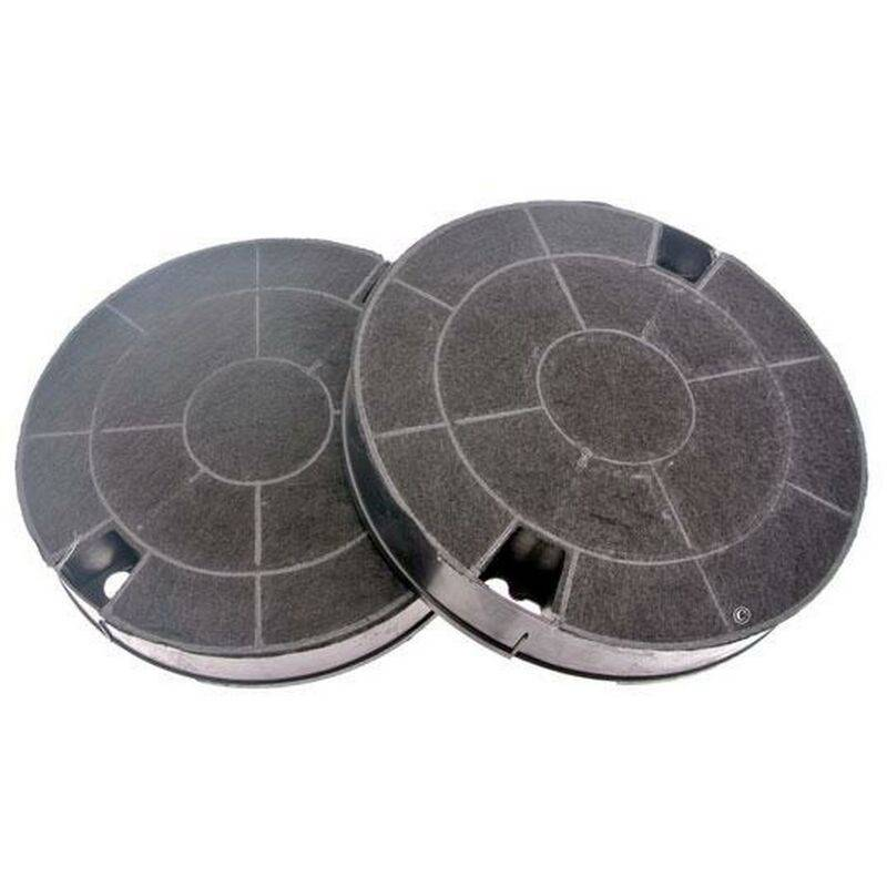 WHIRLPOOL Lot de 2 filtres charbon type 29 CHF029 (91929-1830) (481249038013, AMC912)