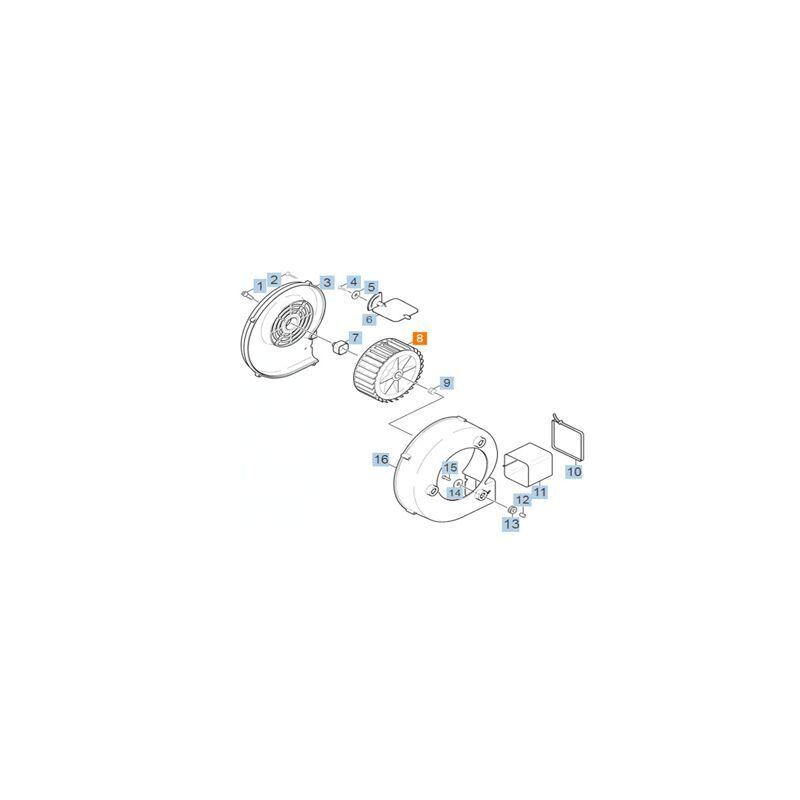 KARCHER Roue Du Ventilateur Pour Petit Electromenager Karcher - 5.600-021.0