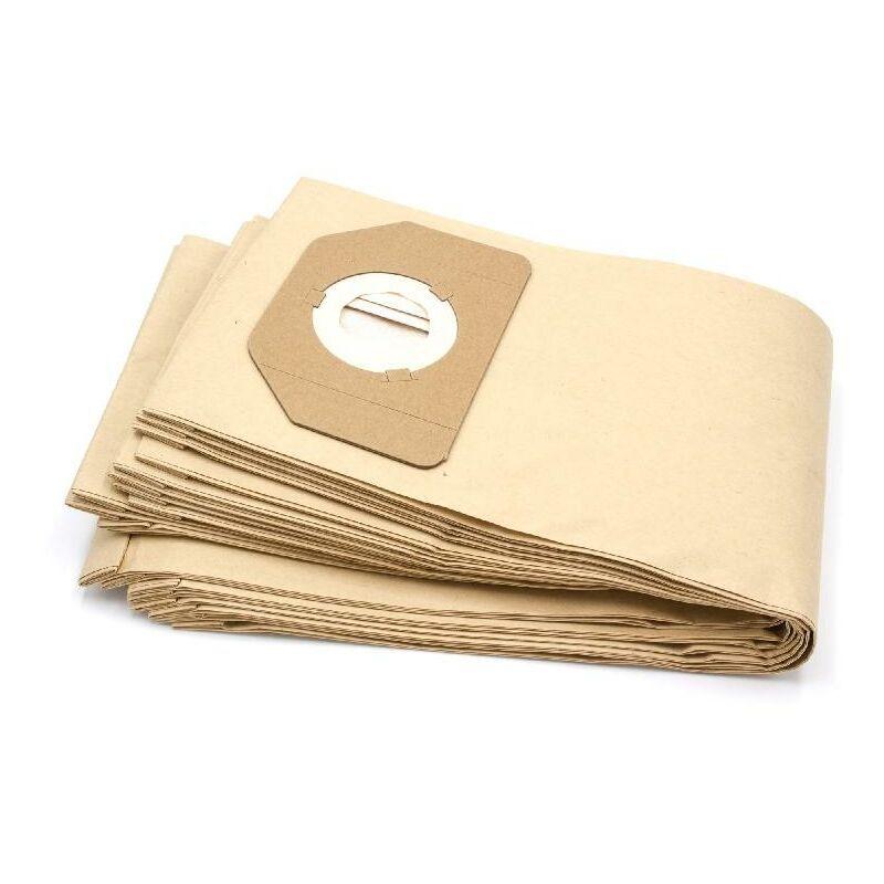 VHBW 10x sacs compatible avec Parkside (Lidl) PNTS1400/B1, PNTS1500, PNTS 30/4, PNTS