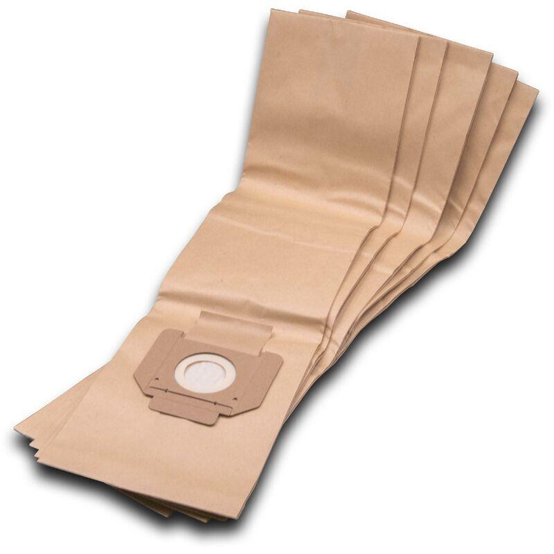 vhbw 5 sacs d'aspirateur, filtre en papier compatible avec aspirateur Festool