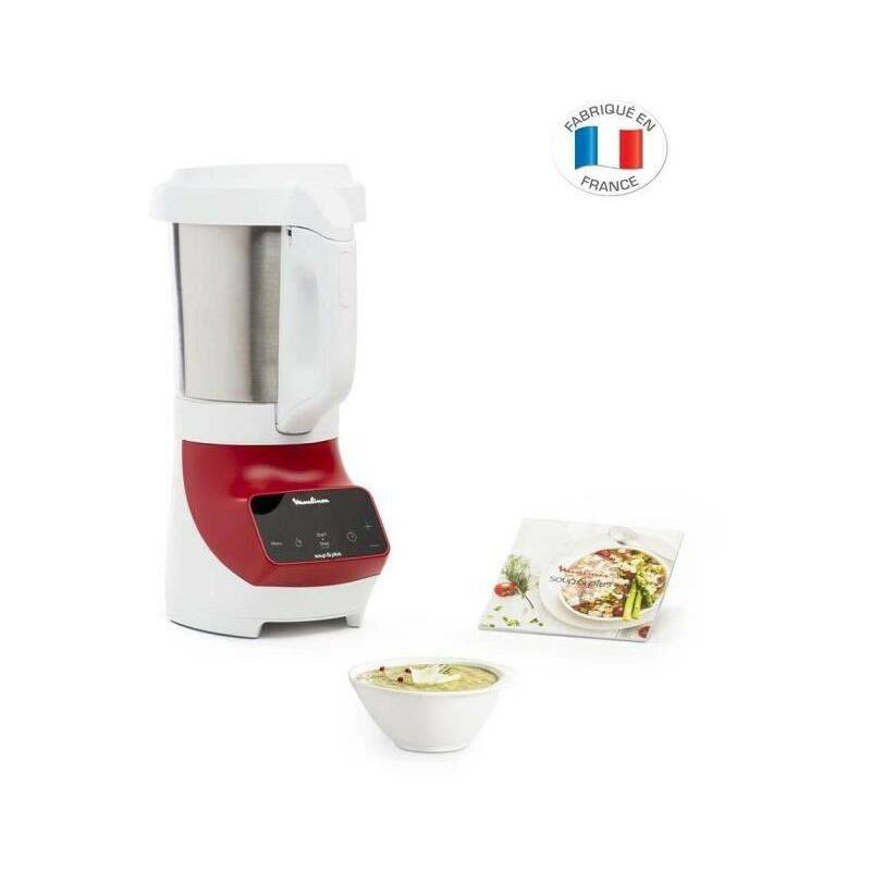 MOULINEX LM924500 Blender chauffant Soup+ 2L Rouge