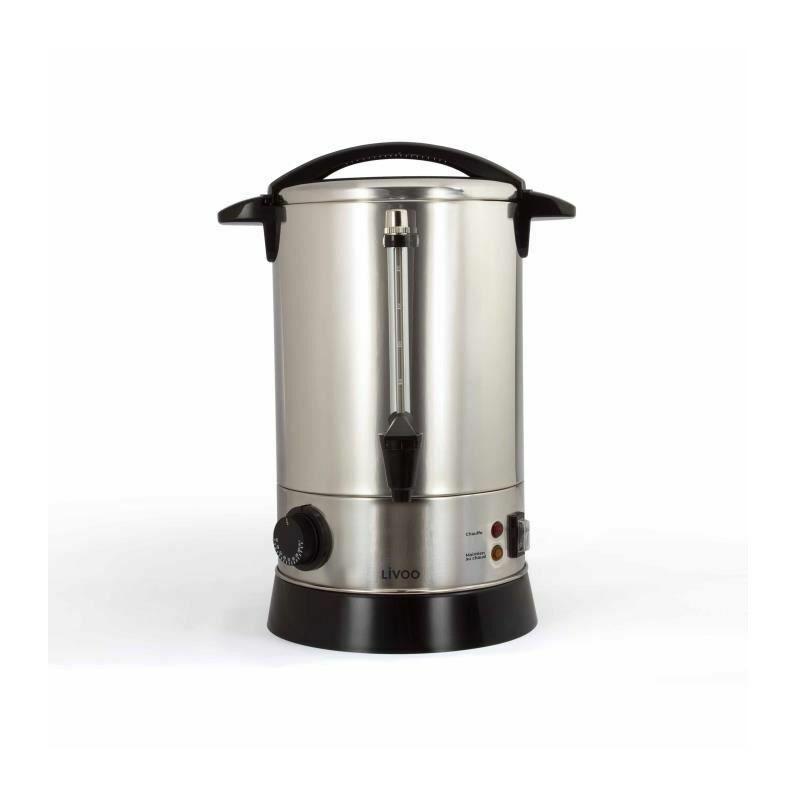 LIVOO DOM397 Percolateur a café - Thermostat ajustable de 30 a 110°C - Capacité