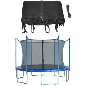 UPPER BOUNCE Filet de Protection et Sécurité de Remplacement pour Trampoline Rond 457 cm - Publicité