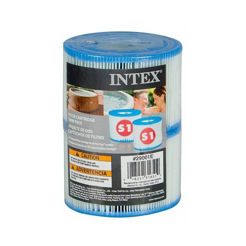 INTEX Lot de 2 Filtres pour Spa INTEX S1