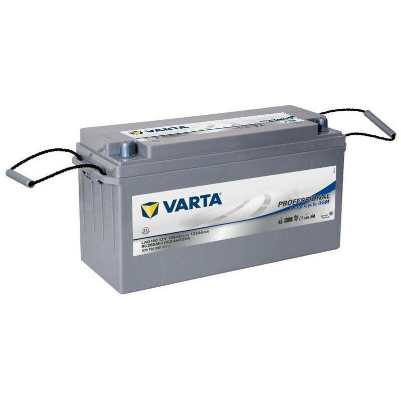VARTA Batterie Decharge-Lente Varta Agm Lad150 12V 150Ah 825A