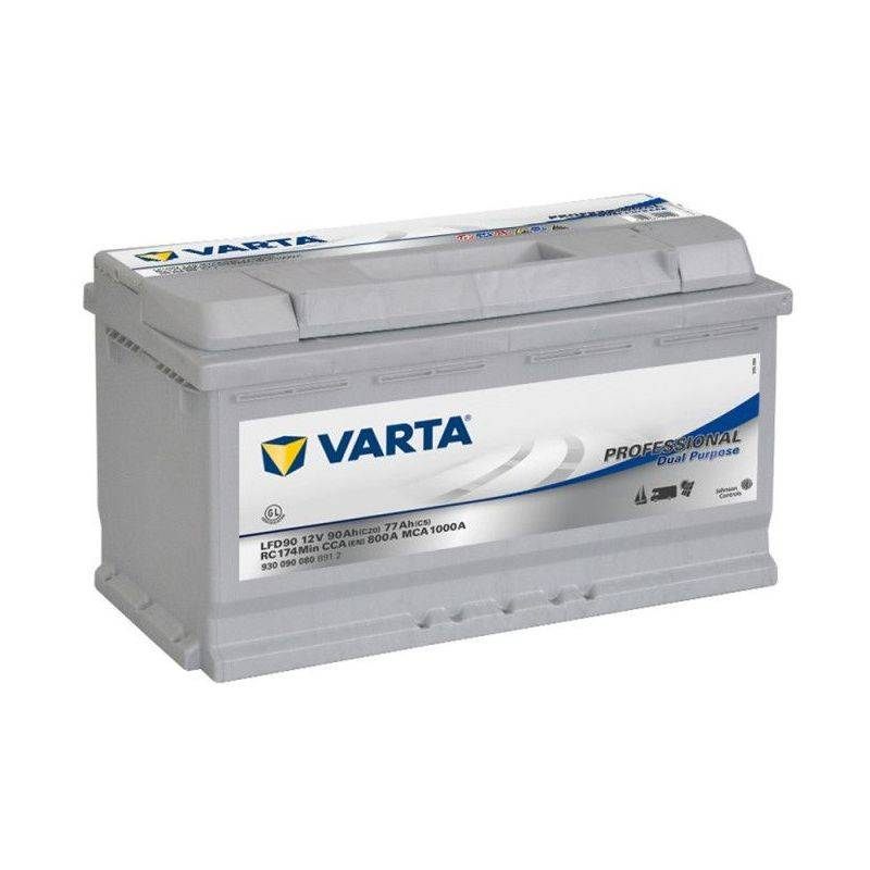 VARTA Batterie décharge lente VARTA LFD90 12v 90ah