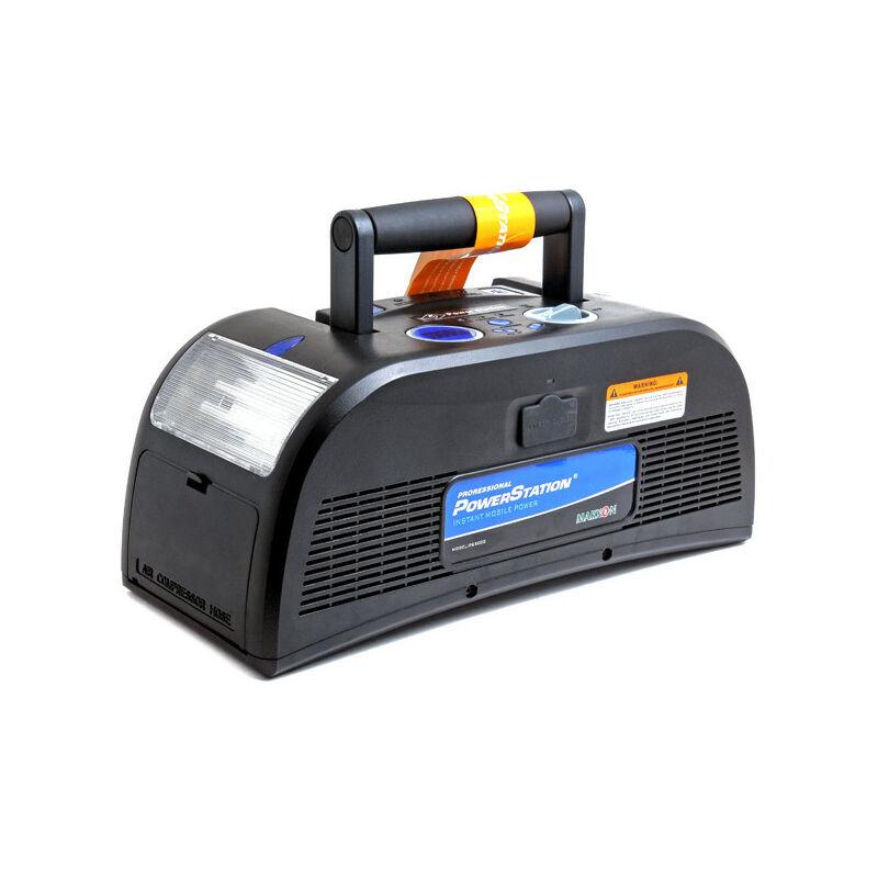 Nx ™ - NX - Booster voiture 12V NX Powerstation + compresseur (CCA: 400A)