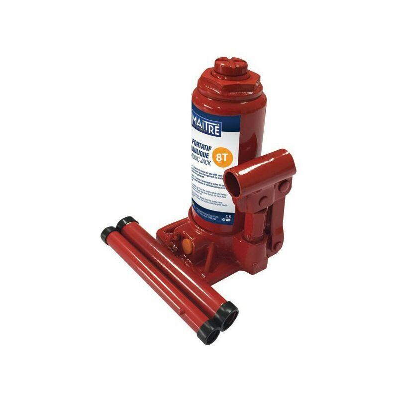 Maxter - Cric Portatif Hydraulique - 8T