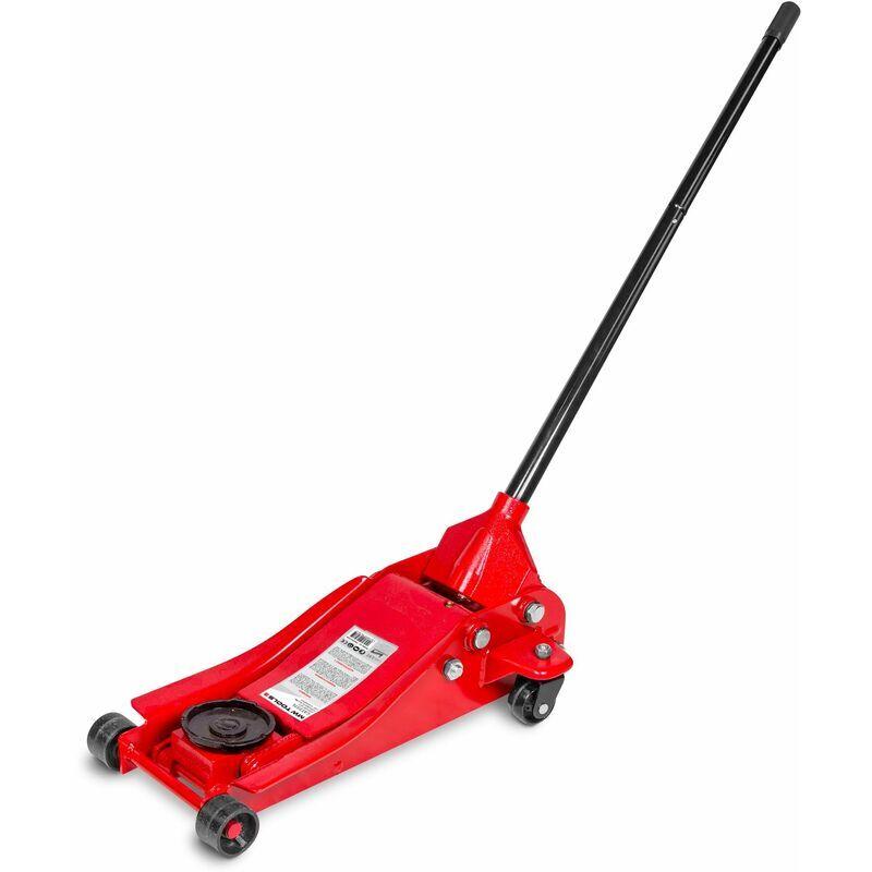 MW-TOOLS Cric rouleur hydraulique 2,5t extra bas MW-Tools CAT25TL