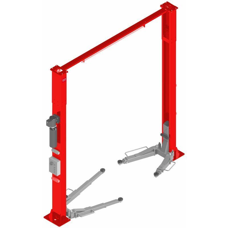 MW-TOOLS Pont élévateur à 2 colonnes sans embase 5T 3x380V HB250CF - Mw-tools