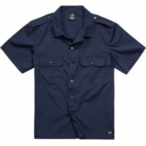 Brandit US Ripstop Chemise Bleu taille : S