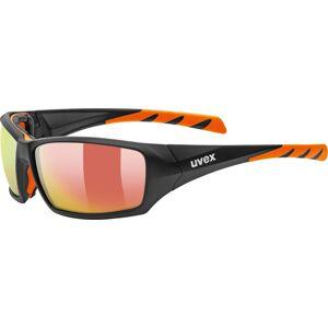 Uvex Sportstyle 308 Lunettes de sport Noir Orange taille : unique taille - Publicité