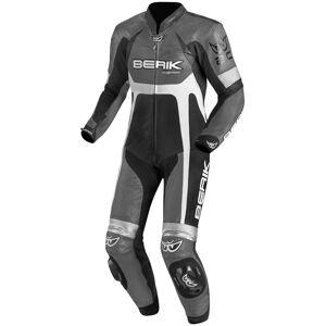 Berik Yagun Kangaroo Costume en cuir de moto d'une pièce Noir Gris taille : 48 - Publicité