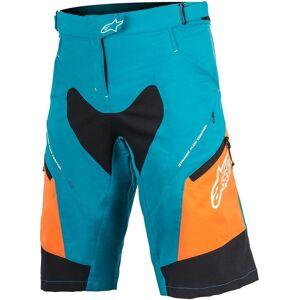 Alpinestars Stella Drop 2 Shorts de cycliste dames Bleu Orange taille : 30
