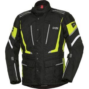 IXS X-Tour Powells-ST Veste de moto Noir Jaune taille : L