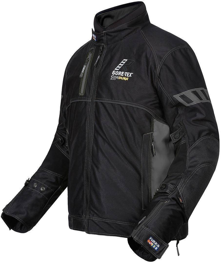 Rukka AiRock 2in1 Gore-Tex Veste textile Noir Gris taille : 52