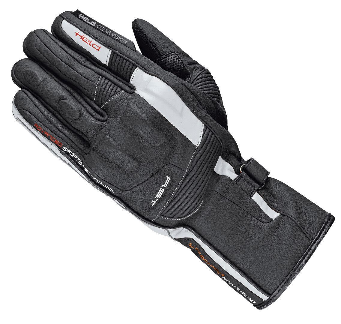 Held Secret-Pro Gants Noir Blanc taille : M