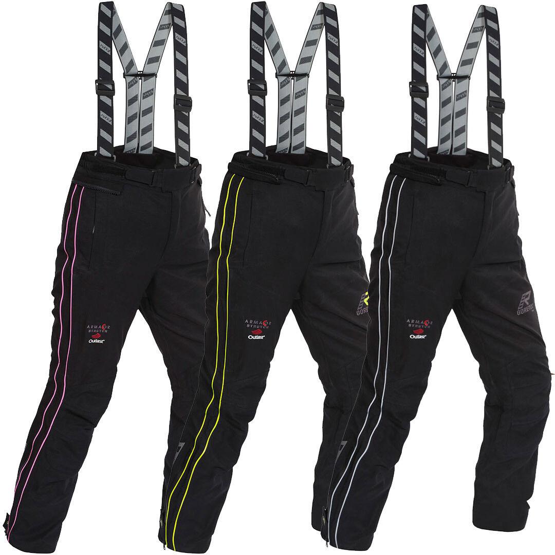Rukka Orbita Gore-Tex Ladies Motorcycle Textile Pants Pantalon textile de moto de dames Noir Orange taille : 36
