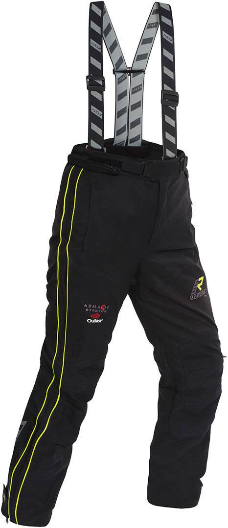 Rukka Orbita Gore-Tex Ladies Motorcycle Textile Pants Pantalon textile de moto de dames Noir Orange taille : 40
