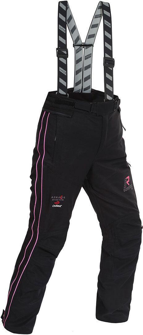 Rukka Orbita Gore-Tex Ladies Motorcycle Textile Pants Pantalon textile de moto de dames Noir Rose taille : 38