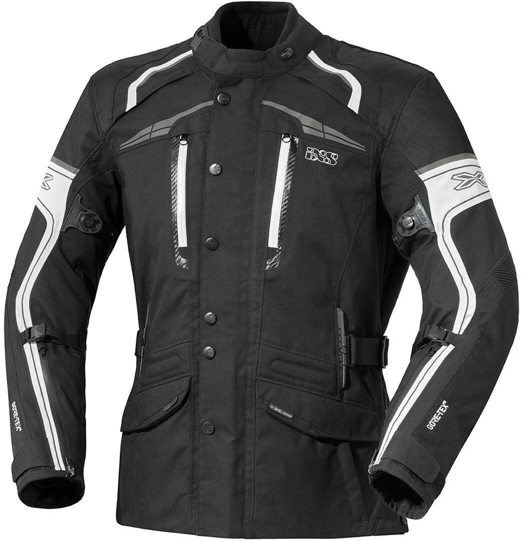 IXS Montgomery Gore-Tex Veste Textile Mesdames Noir Blanc taille : XL