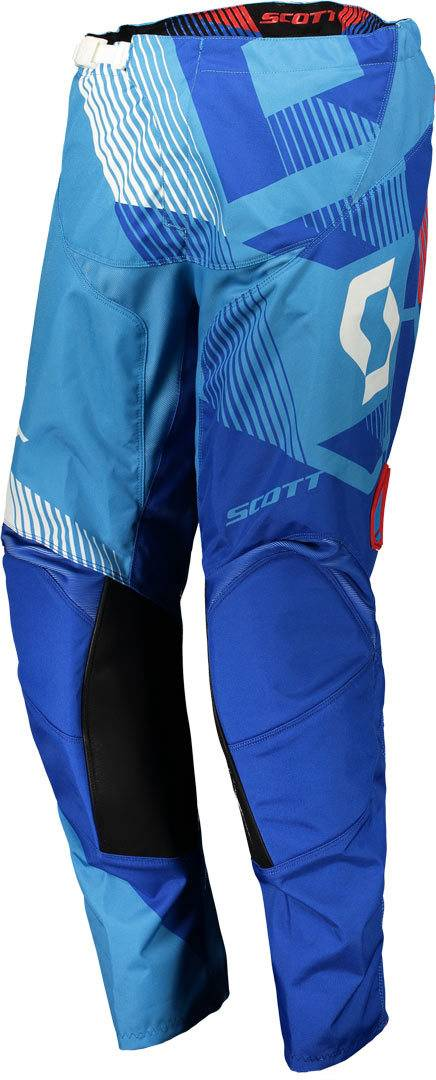Scott 350 Dirt Pantalon motocross 2018 Blanc Bleu taille : 32