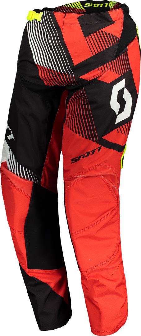 Scott 350 Dirt Pantalon motocross 2018 Noir Rouge taille : 32