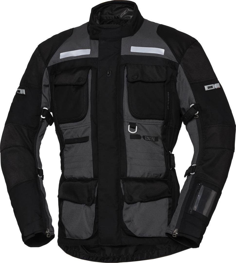 IXS X-Tour Montevideo-ST Veste Textile moto Noir Gris taille : XL