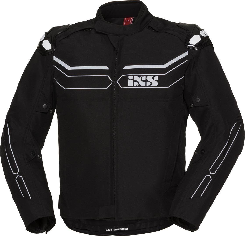 IXS X-Sport RS1000-ST Veste textile de moto imperméable à l'eau Noir Gris taille : XL