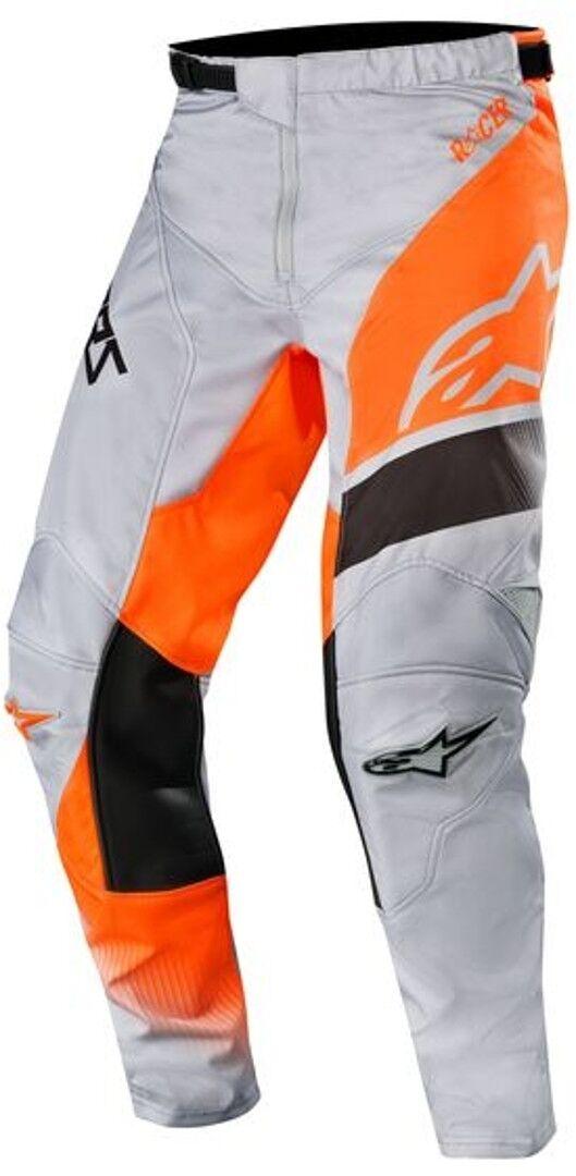 Alpinestars Racer Supermatic Pantalon Motocross 2019 Gris Orange taille : 32