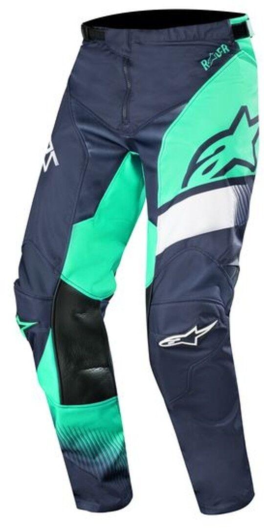 Alpinestars Racer Supermatic Pantalon Motocross 2019 Vert Bleu taille : 34