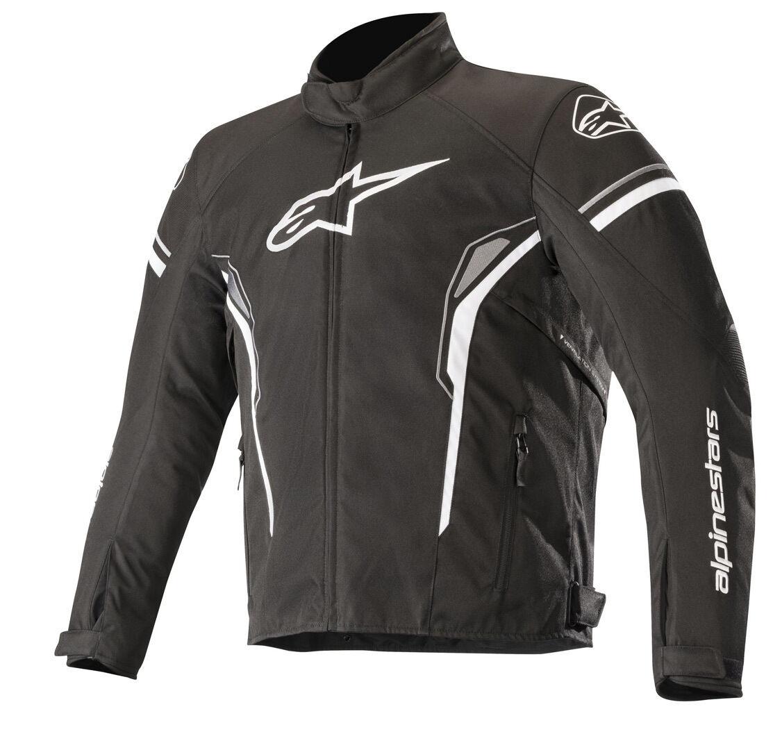Alpinestars T-SP-1 Veste de Textile imperméable à l'eau Noir Blanc taille : S