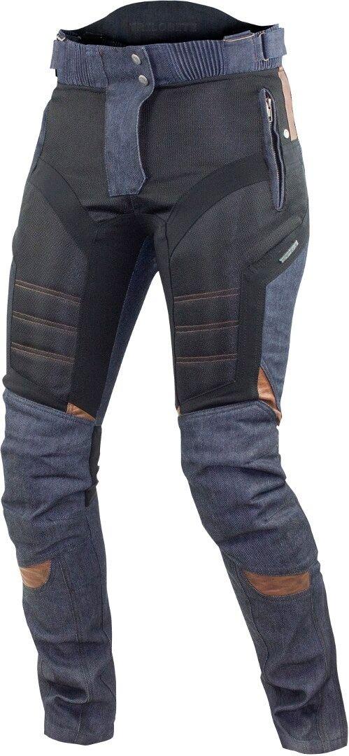 Trilobite Airtech Pantalon textile de moto de dames Noir Bleu taille : 28