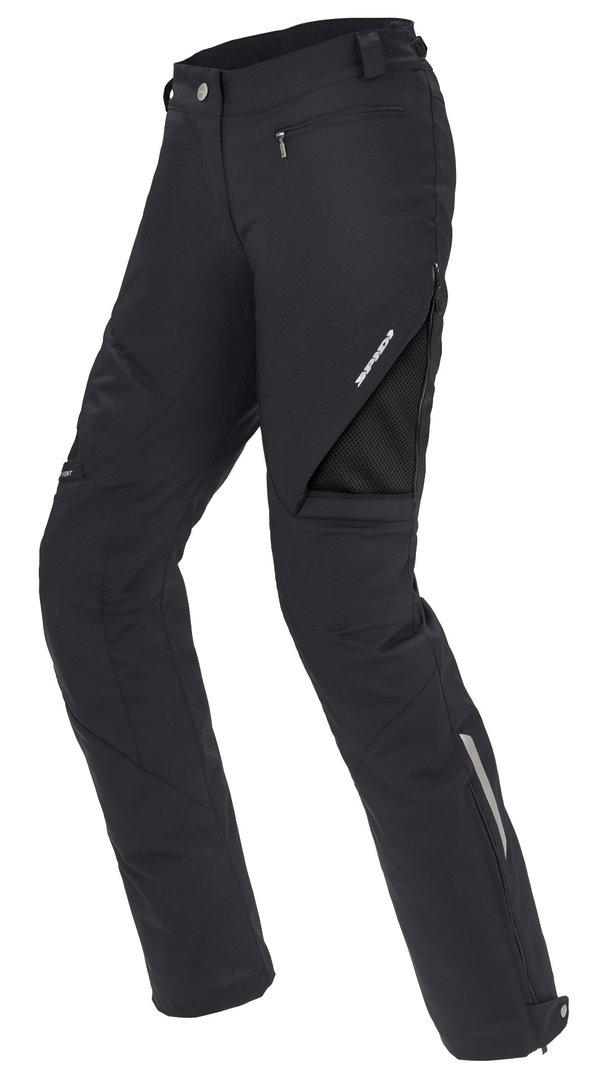 Spidi Stretch Tex Women Pantalon Textile moto Noir taille : M
