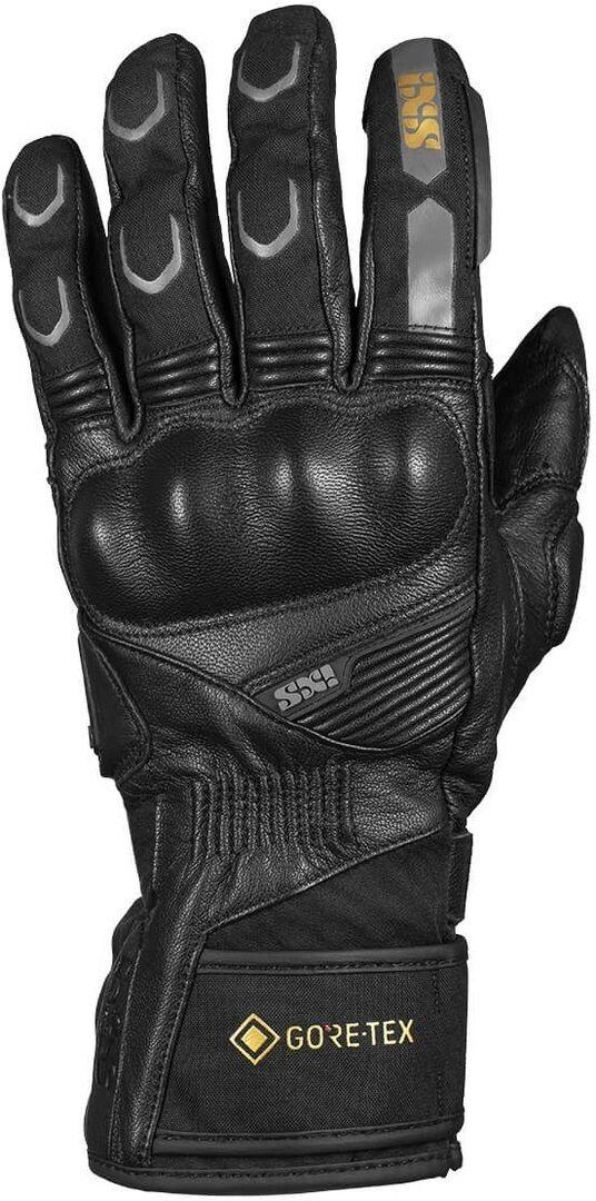 IXS Tour Viper Gore-Tex 2.0 Ladies Motorcycle Gloves Gants de moto de dames Noir taille : L