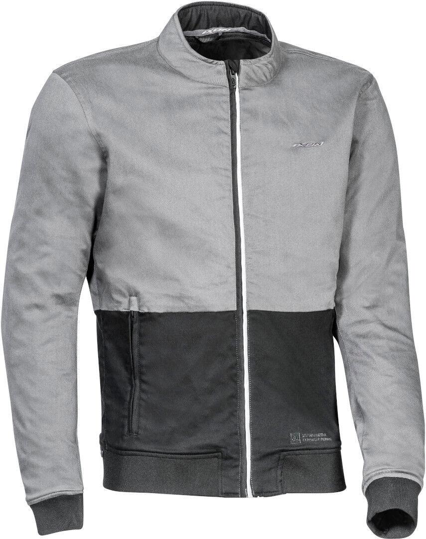 Ixon Fulham Veste textile de moto Noir Gris taille : 2XL