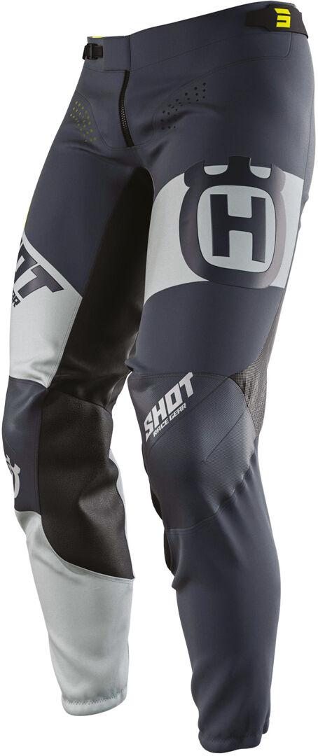 Shot Aerolite Husqvarna Limited Edition Pantalon Motocross Gris Bleu taille : 32