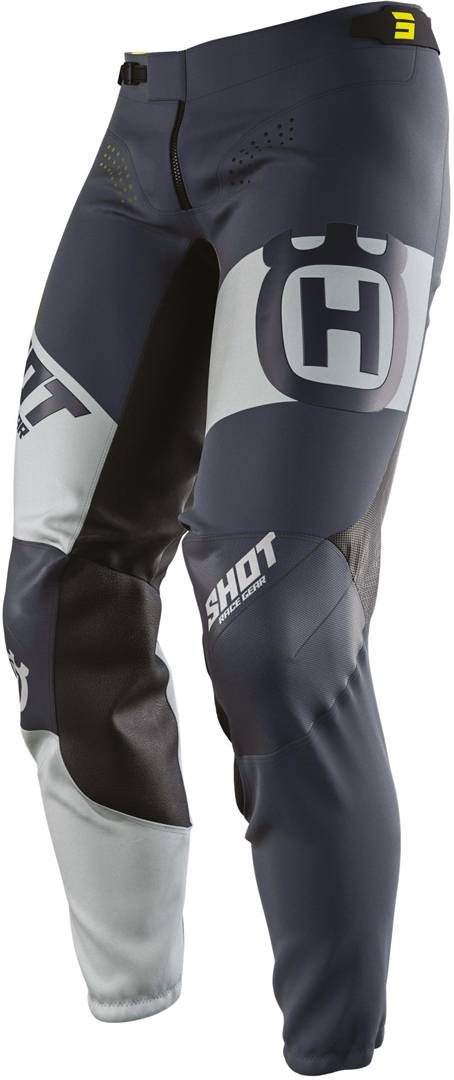 Shot Aerolite Husqvarna Limited Edition Pantalon Motocross Gris Bleu taille : 28