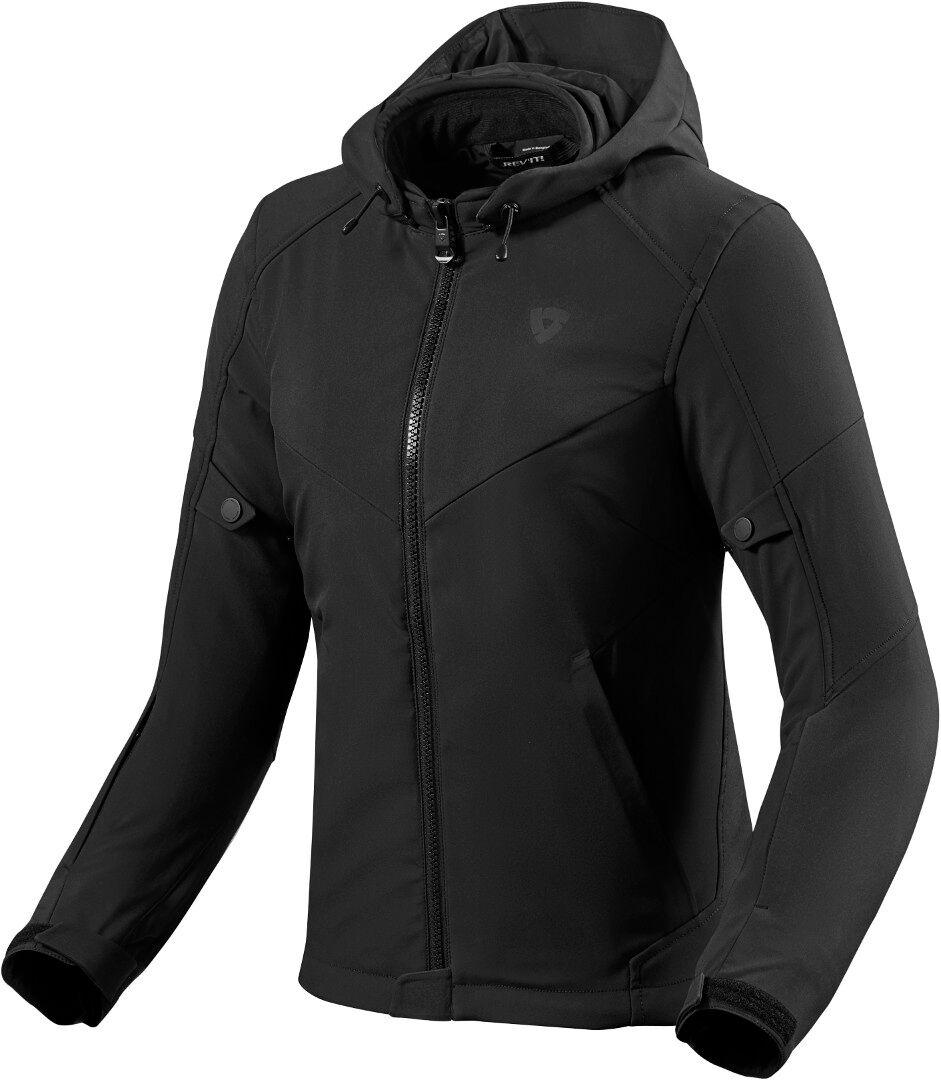 Revit Burn 2 Veste textile de moto de dames Noir taille : 38