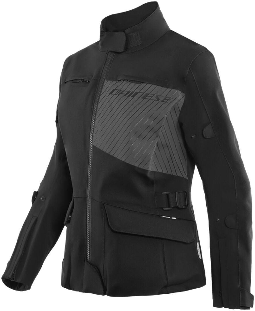 Dainese Tonale D-Dry XT Veste textile de moto de dames Noir Gris taille : 52