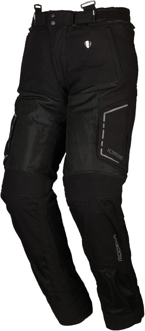 Modeka Khao Air Pantalon textile de moto Noir taille : L