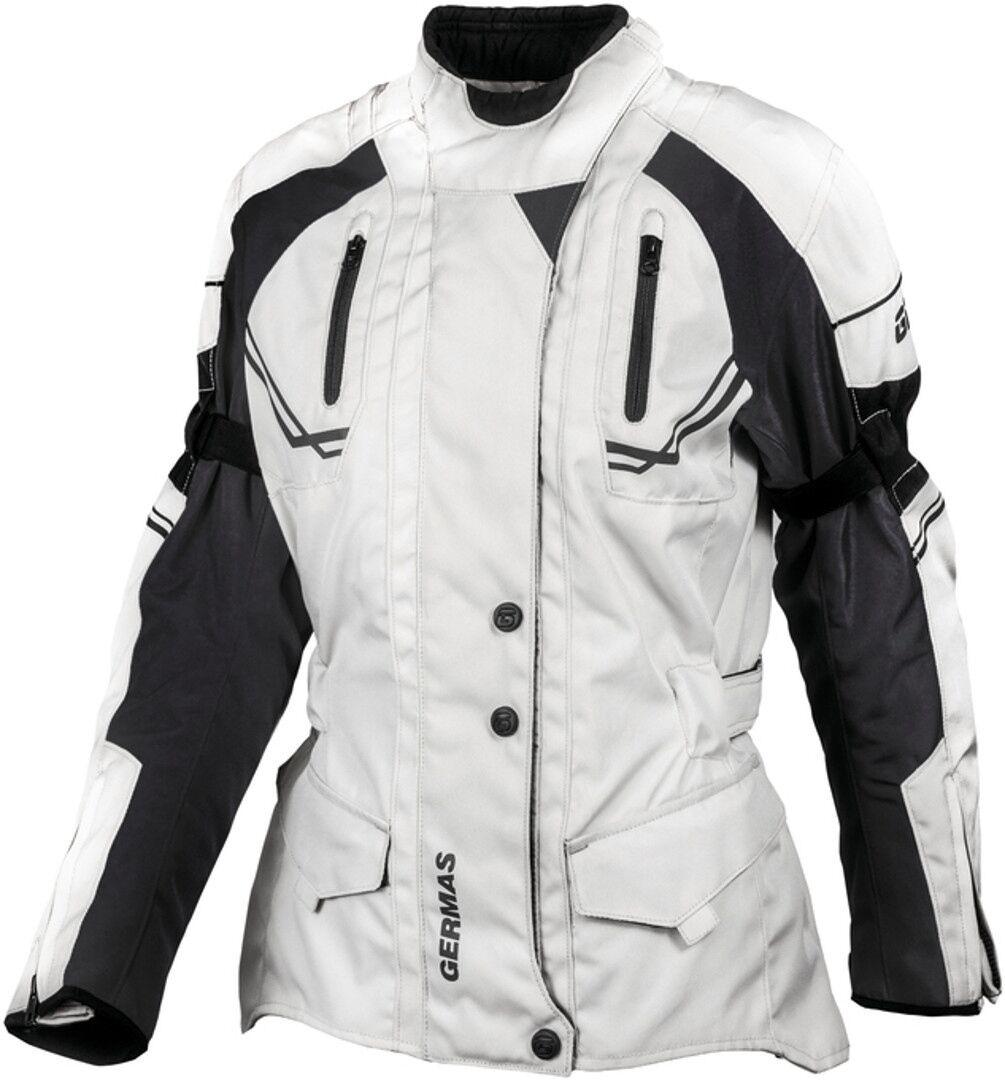GMS Taylor Veste textile de moto de dames Noir Gris taille : 10XL