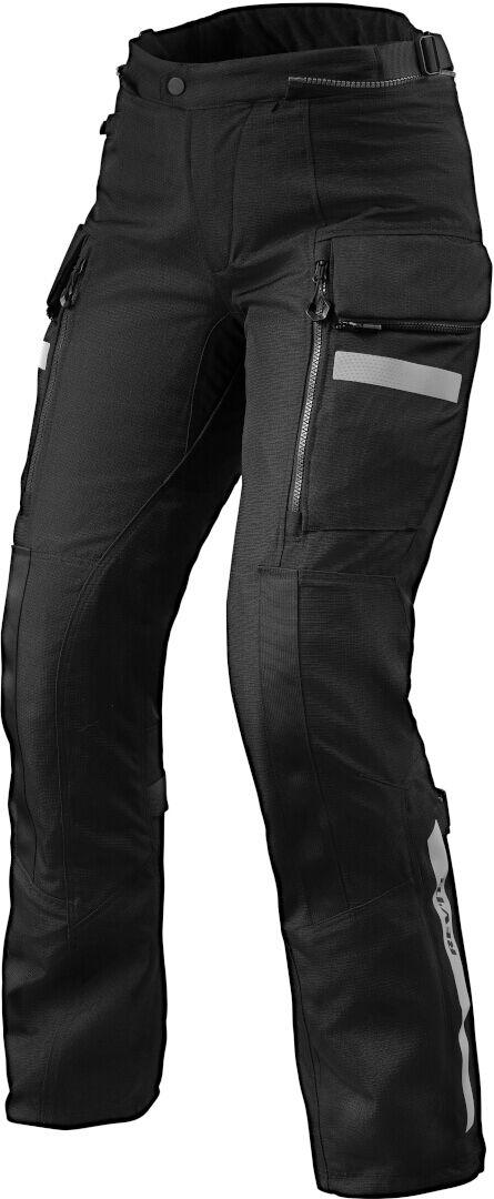 Revit Sand 4 H2O Pantalon textile de moto de dames Noir taille : 40