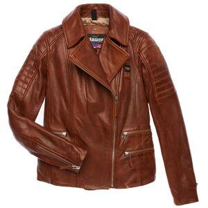 Blauer USA Icon Veste en cuir de dames Brun taille : XL - Publicité