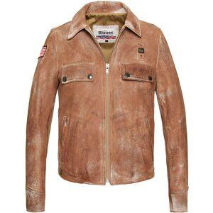 Blauer USA Vintage Tyler Veste en cuir taille : S - Publicité