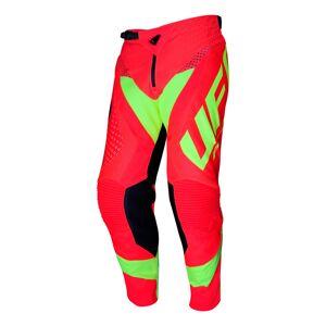 UFO Proton Made in Italy Pantalon de motocross Rouge taille : 48 - Publicité