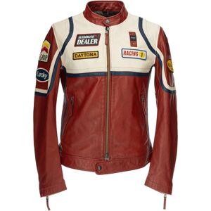 Blauer USA Anderson Veste en cuir Rouge taille : XL - Publicité