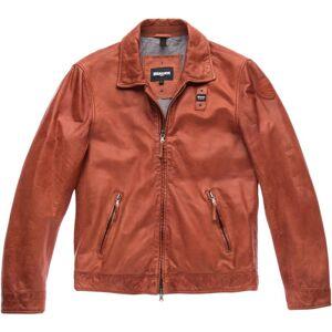 Blauer USA Jackson Veste en cuir Rouge taille : S - Publicité