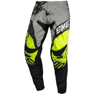 Shot Contact Shadow Pantalon Motocross Gris Jaune taille : 34 - Publicité