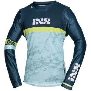IXS Trigger Maillot Motocross Bleu Jaune taille : S - Publicité